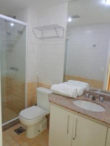 Flats com vista no Recreio, Apartmánové hotely  Rio de Janeiro - big - 43