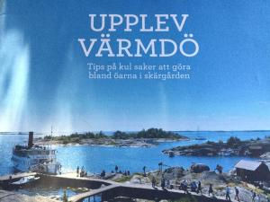 Lillstuga Strömma, Дома для отпуска  Вармдо - big - 42