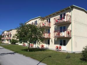Apartmán Ravinstigen Visby Lägenhetshotell Visby Švédsko