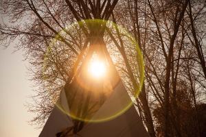 Anasazi Glamping Tipi