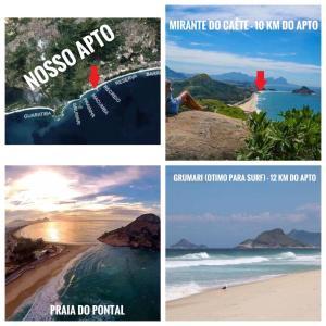 Flats com vista no Recreio, Апарт-отели  Рио-де-Жанейро - big - 46