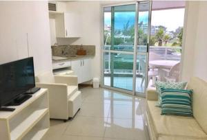 Flats com vista no Recreio, Aparthotels  Rio de Janeiro - big - 48