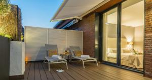 Superior Double Room with Terrace and Jacuzzi