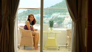 Cozy Seaview Studio Vung Tau, Апартаменты  Вунгтау - big - 4