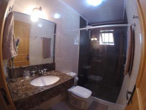 Chalé Bela Vista, Dovolenkové domy  Gramado - big - 11