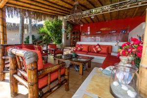 Casa de Playa Bungalows & Restaurant, Hotels  Máncora - big - 53