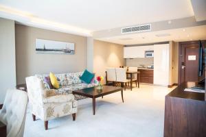 Suite de 1 dormitorio con sofá cama