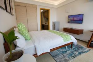 Baorui Railway Boutique Apartment, Ferienwohnungen  Sanya - big - 7