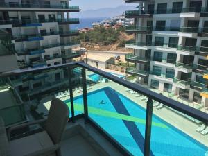 Konak Seaside Resort, Apartmanok  Alanya - big - 23