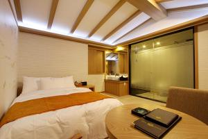 Suwon Orsay Business Hotel, Hotely  Suwon - big - 39