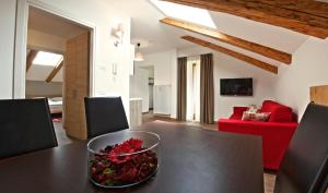 Residence Cavanis Wellness & Spa, Aparthotely  Sappada - big - 11