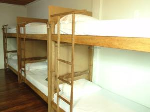 Bed in 14-Bed Mixed Dormitory Room with Air Conditioning