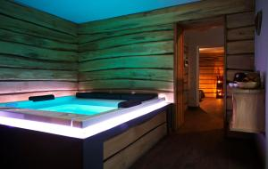 Residence Cavanis Wellness & Spa, Aparthotely  Sappada - big - 14