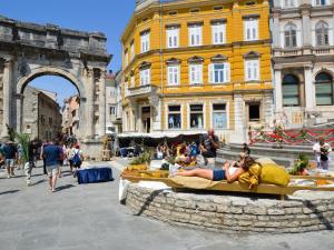 Apartment in Pula/Istrien 17400, Appartamenti  Veruda - big - 10