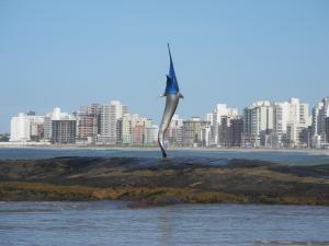 Blue Marlin Apartment, Apartmány  Guarapari - big - 33