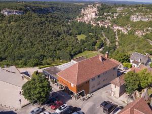 Logis Hôtel Le Belvédère, Отели  Рокамадур - big - 1