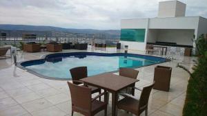 Apartamento Mirante de Escarpas, Apartments  Capitólio - big - 17