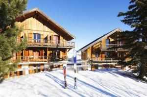Residence Hedena Les Chalets des Cimes By Locatour, Apartmány  La Toussuire - big - 20