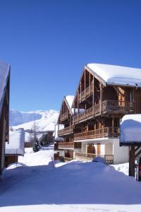 Residence Hedena Les Chalets des Cimes By Locatour, Apartmány  La Toussuire - big - 15