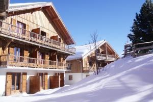 Residence Hedena Les Chalets des Cimes By Locatour, Apartmány  La Toussuire - big - 14
