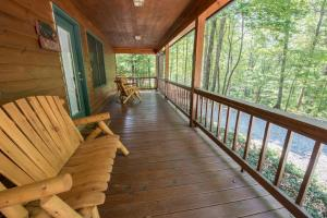 Hooker's Hideaway-Blue Ridge, Dovolenkové domy  Higdon - big - 10