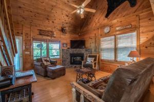 Hooker's Hideaway-Blue Ridge, Dovolenkové domy  Higdon - big - 9