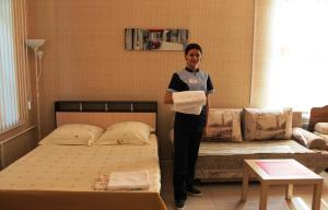 Hotel Sagittarius, Apartments  Samara - big - 17