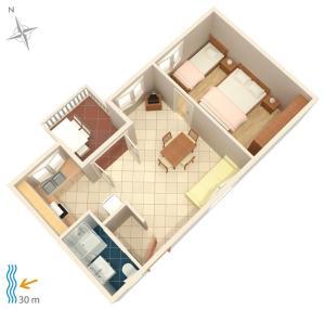 Apartment Brodarica 4194a, Apartments  Brodarica - big - 14
