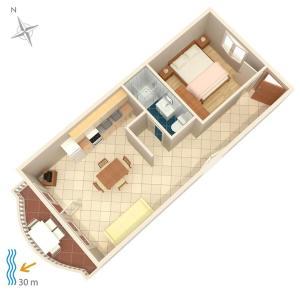 Apartment Brodarica 4194d, Appartamenti  Brodarica - big - 13