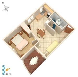 Apartment Brodarica 4194b, Appartamenti  Brodarica - big - 12