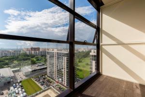 SpbMannia Pulkovo, Apartmány  Petrohrad - big - 35