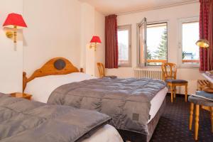 Hotel Les Mélèzes, Hotely  Les Deux Alpes - big - 5