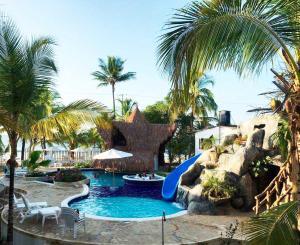 Cabañas Aqua Blue, Apartmánové hotely  Coveñas - big - 12