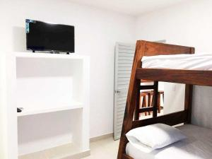 Cabañas Aqua Blue, Apartmánové hotely  Coveñas - big - 10