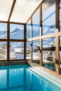 Les Campanules Hôtels-Chalets de Tradition, Hotel  Tignes - big - 84