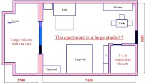 Midia Apartment, Apartmány  Aheloy - big - 11