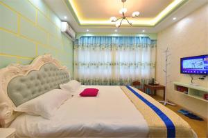 Zhaoxiahong Art hotel, Проживание в семье  Wujiaqiao - big - 281