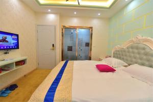 Zhaoxiahong Art hotel, Проживание в семье  Wujiaqiao - big - 280