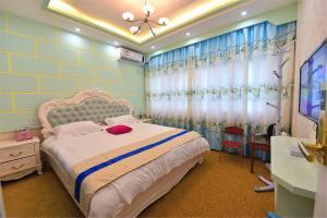 Zhaoxiahong Art hotel, Проживание в семье  Wujiaqiao - big - 277