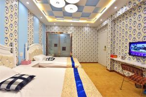 Zhaoxiahong Art hotel, Проживание в семье  Wujiaqiao - big - 272