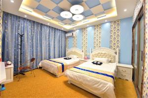 Zhaoxiahong Art hotel, Проживание в семье  Wujiaqiao - big - 270