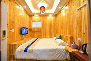 Zhaoxiahong Art hotel, Проживание в семье  Wujiaqiao - big - 262