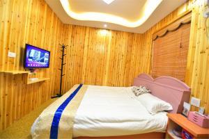 Zhaoxiahong Art hotel, Проживание в семье  Wujiaqiao - big - 255