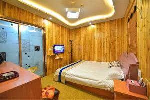 Zhaoxiahong Art hotel, Проживание в семье  Wujiaqiao - big - 253
