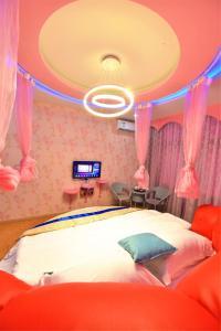 Zhaoxiahong Art hotel, Проживание в семье  Wujiaqiao - big - 250