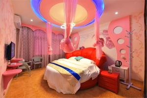 Zhaoxiahong Art hotel, Проживание в семье  Wujiaqiao - big - 247
