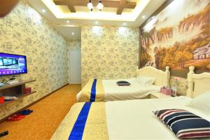 Zhaoxiahong Art hotel, Проживание в семье  Wujiaqiao - big - 244