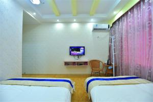 Zhaoxiahong Art hotel, Проживание в семье  Wujiaqiao - big - 238