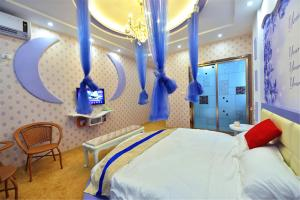Zhaoxiahong Art hotel, Проживание в семье  Wujiaqiao - big - 232