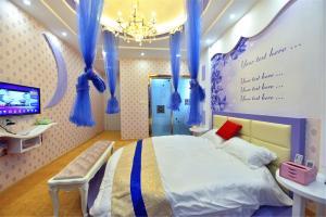 Zhaoxiahong Art hotel, Проживание в семье  Wujiaqiao - big - 231